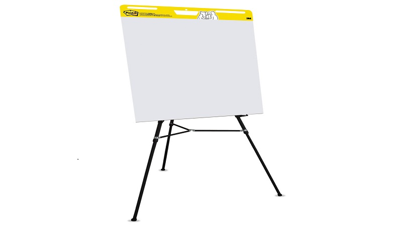 Stick Your Thoughts Together Like an Sticky Easel Pad