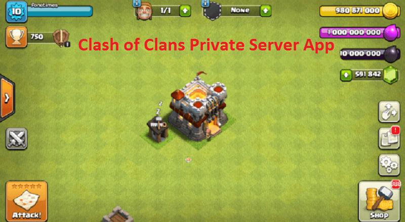 Clash of Clans Private Server App