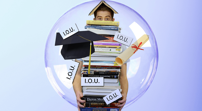 Why Strategic Default Does Not Save Money on Student Loans?